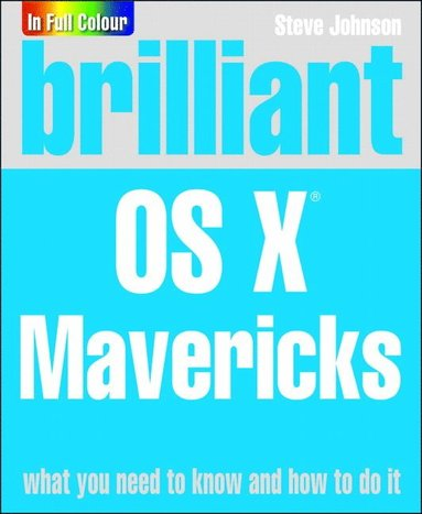 bokomslag Brilliant OS X Mavericks