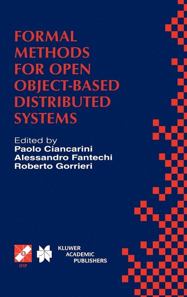 bokomslag Formal Methods for Open Object-Based Distributed Systems