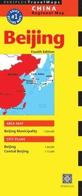 bokomslag Beijing Regional Map