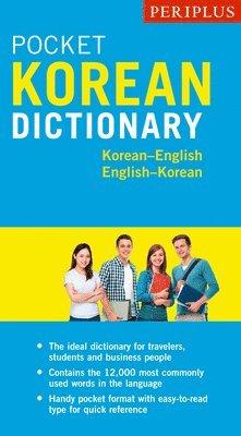 bokomslag Periplus Pocket Korean Dictionary: Korean-English English-Korean, Second Edition