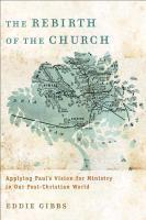 bokomslag The Rebirth of the Church