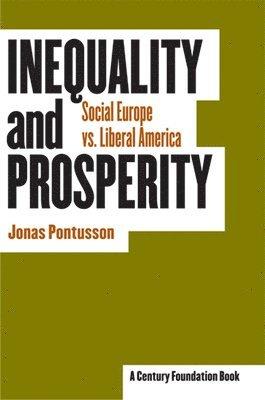 bokomslag Inequality and Prosperity