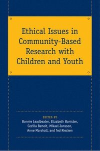 bokomslag Ethical Issues in Community-Based Research with Children and Youth
