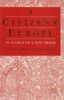 bokomslag A Citizens' Europe