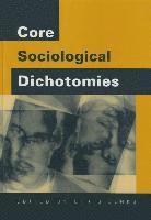 Core Sociological Dichotomies 1