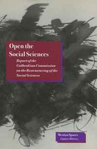 bokomslag Open the Social Sciences