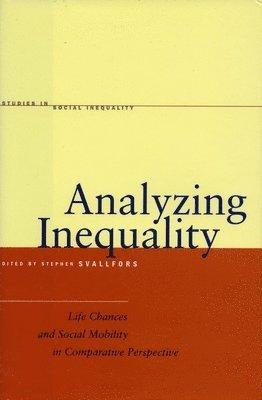 bokomslag Analyzing Inequality