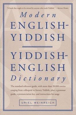 bokomslag Modern English-Yiddish Dictionary
