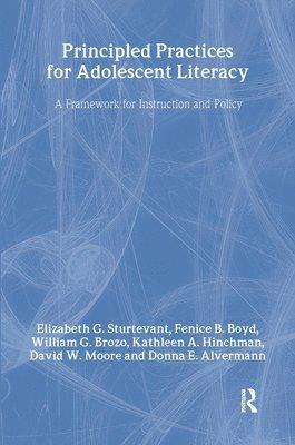 bokomslag Principled Practices for Adolescent Literacy
