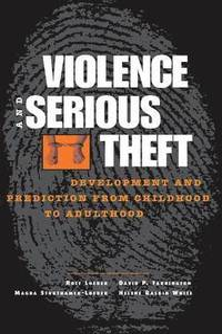 bokomslag Violence and Serious Theft