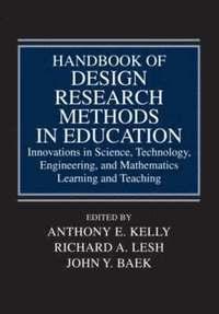 bokomslag Handbook of Design Research Methods in Education