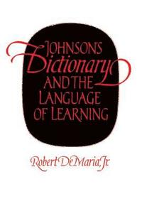 bokomslag Johnson's Dictionary and the Language of Learning