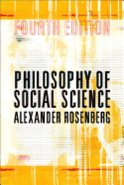 bokomslag Philosophy of Social Science