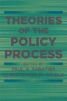 bokomslag Theories of the Policy Process