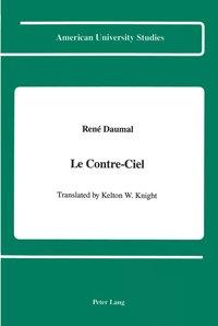 bokomslag Le Contre-Ciel