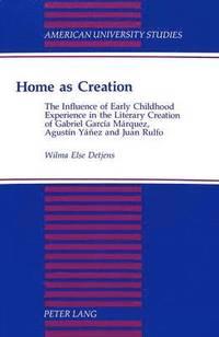 bokomslag Home as Creation