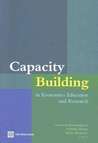 bokomslag Capacity Building in Economics Education and Research