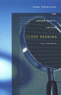 bokomslag Close Reading