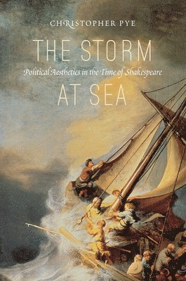 bokomslag Storm at sea - political aesthetics in the time of shakespeare