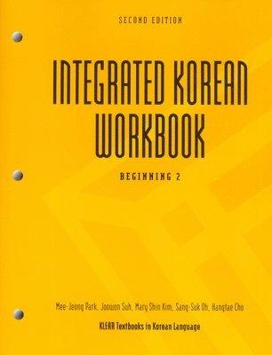 bokomslag Integrated Korean Workbook