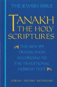 bokomslag JPS TANAKH: The Holy Scriptures (blue)