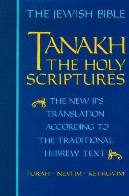 bokomslag JPS TANAKH: The Holy Scriptures (blue)