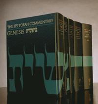 bokomslag The JPS Torah Commentary Series, 5-volume set