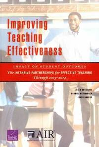 bokomslag Improving Teaching Effectiveness: Impact on Student Outcomes