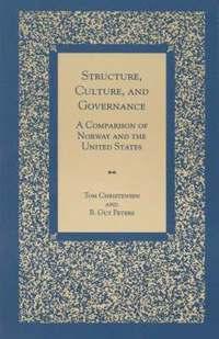 bokomslag Structure, Culture, and Governance
