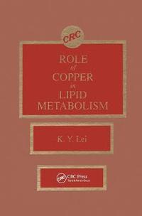 bokomslag Roles of Copper in Lipid Metabolism