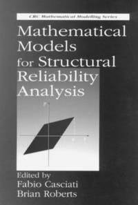 bokomslag Mathematical Models for Structural Reliability Analysis