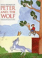 bokomslag Peter and the Wolf Children's Book with Easy Piano Pieces