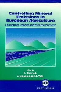 bokomslag Controlling Mineral Emissions in European Agriculture