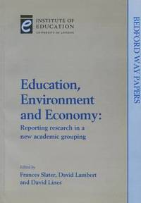 bokomslag Education, Environment and Economy