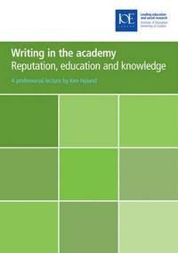 bokomslag Writing in the academy