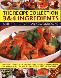 bokomslag The Recipe Collection: 3 &; 4 Ingredients