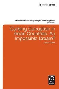 bokomslag Curbing Corruption in Asian Countries