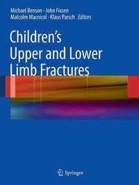 bokomslag Children's Upper and Lower Limb Fractures