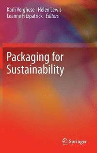 bokomslag Packaging for Sustainability
