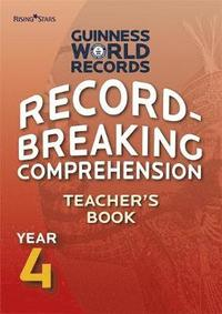 bokomslag Record Breaking Comprehension Year 4 Teacher's Book