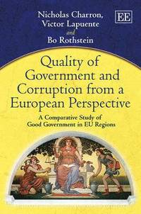 bokomslag Quality of Government and Corruption from a European Perspective
