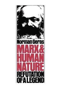 bokomslag Marx and Human Nature