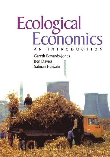 bokomslag Ecological economics - an introductory text