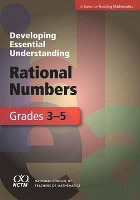 bokomslag Developing Essential Understanding - Rational Numbers in Grades 3-5