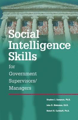 bokomslag Social Intelligence Skills for Government Managers