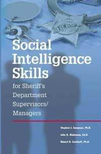 bokomslag Social Intelligence Skills for Sherrif's Departments