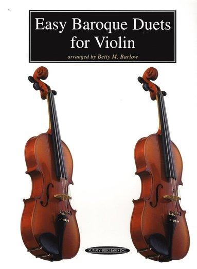 bokomslag Easy Baroque Duets for Violin