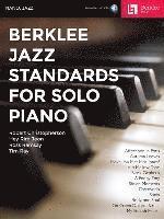 bokomslag Berklee Jazz Standards for Solo Piano