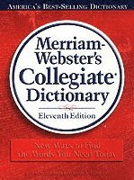 bokomslag Merriam-Webster Collegiate Dictionary
