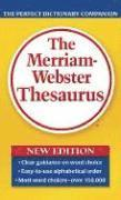 bokomslag The Merriam-Webster Thesaurus
